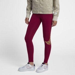 Nike Sportswear Legacy Womens Tights Martin Gold